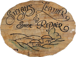 Stefan's Leather& Shoe Repair logo